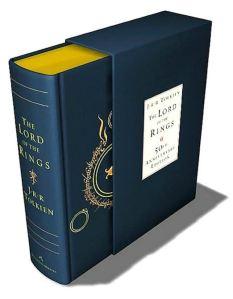 Book Tolkien LOTR 1Vol 50th Anniversary HM Hardcover 2004 B