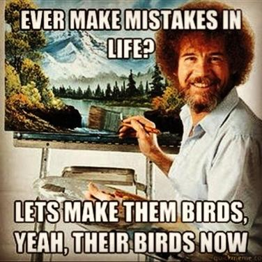 Rewrites are just taking the imperfect and making them into beautiful birds.