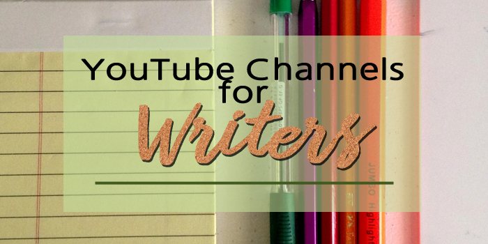 YouTube Channels for Writers header