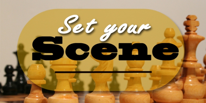 Creative scene building using chess pieces header photo