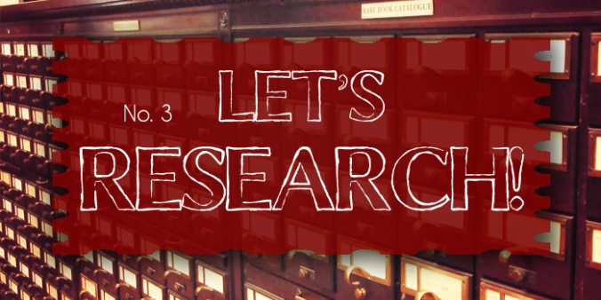 Let's Research Header