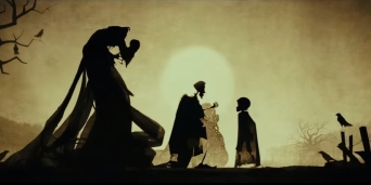 Image from Harry Potter's The Tale of the Three Brothers