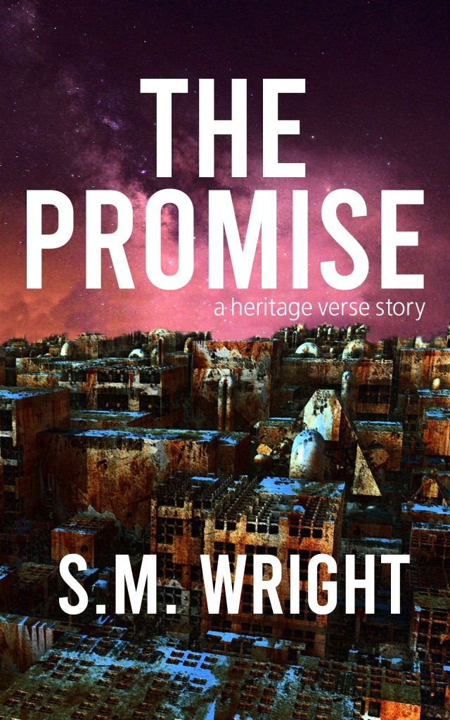 The Promise by S.M. Wright novella cover. Click to go to its Amazon page.