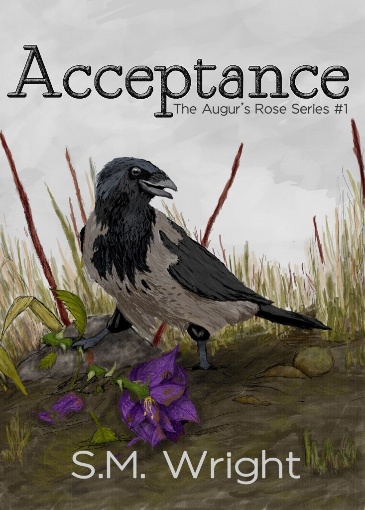 Acceptance by S.M. Wright short story cover. Click to go to its page on Amazon.